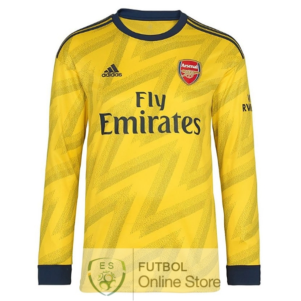 Camiseta Arsenal 19/2020 Manga Larga Segunda