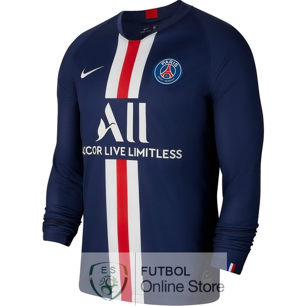 Camiseta Paris Saint Germain 19/2020 Manga Larga Primera