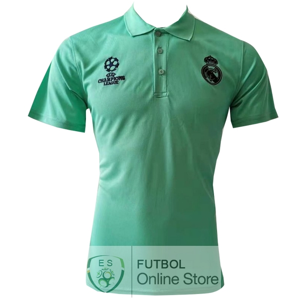 Polo Real Madrid Verde Negro 19/2020