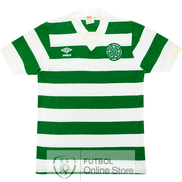 Retro Camiseta Celtic 1980 1982 Primera
