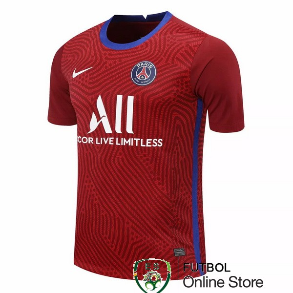 Camiseta Paris Saint Germain 20/2021 Portero Borgona