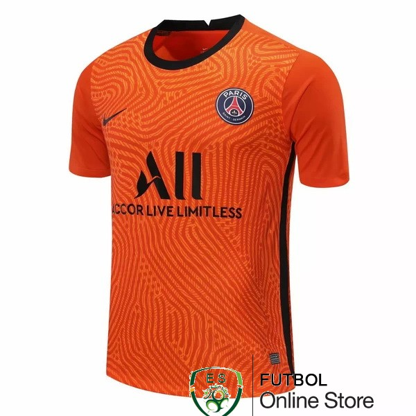 Camiseta Paris Saint Germain 20/2021 Portero Naranja
