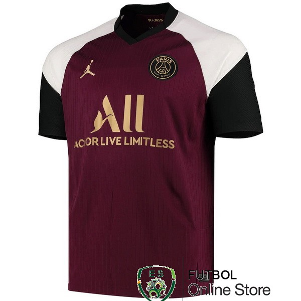 Camiseta Paris Saint Germain 20/2021 Tercera