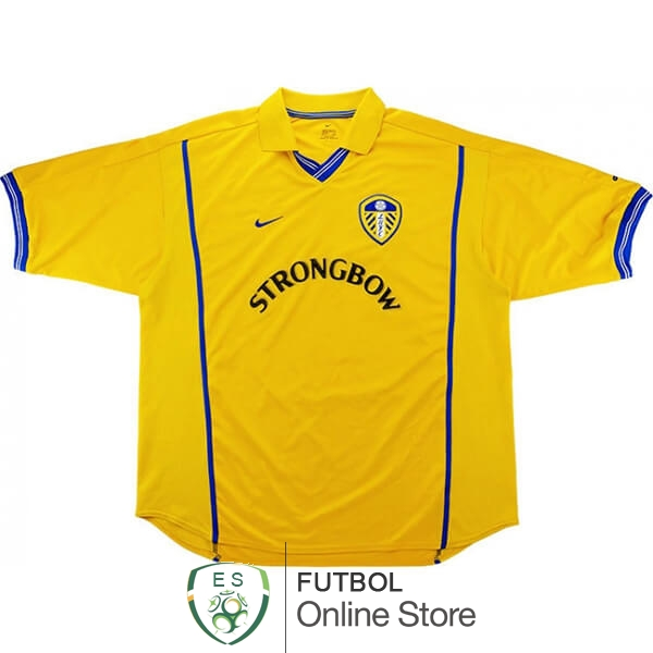 Retro Camiseta Leeds United 2000 2002 Primera