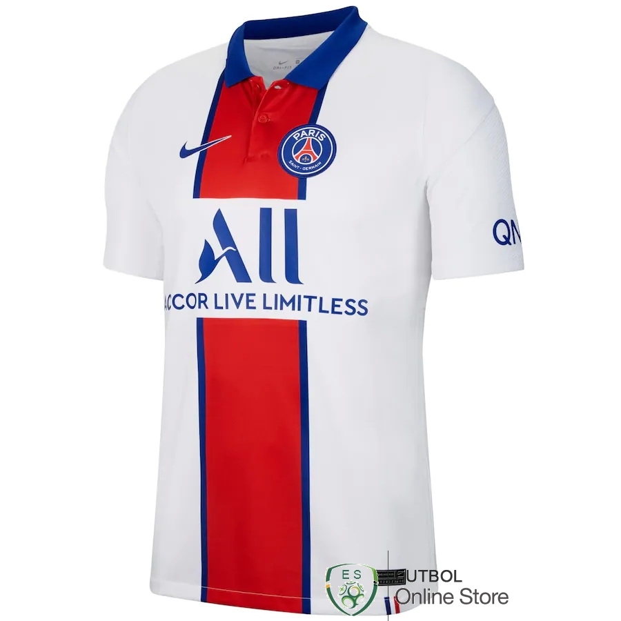Camiseta Paris Saint Germain 20/2021 Segunda