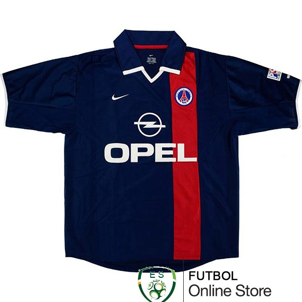 Retro Camiseta Paris Saint Germain 2001-2002 Primera
